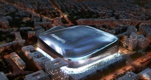 Real Madrid'in Yeni Stadı Santiago Bernabéu