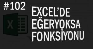 Eğeryoksa Fonksiyonu | Excel Eğitimi #102