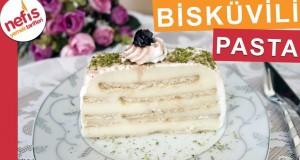 Kolay Bisküvili Pasta Tarifi – Kolay Pasta Tarifleri – Nefis Yemek Tarifleri