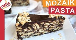 15 Dakikada SÜTSÜZ MOZAİK PASTA – Çikolata ve Fındıklı
