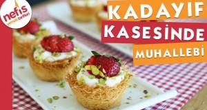 Kadayıf Kasesinde Muhallebi Tarifi – Nefis Yemek Tarifleri