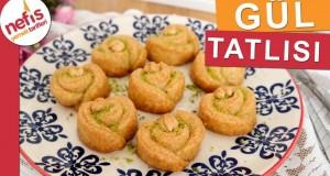 Gül Tatlısı Tarifi – En Kolay Gül Tatlısı Yapımı – Nefis Yemek Tarifleri