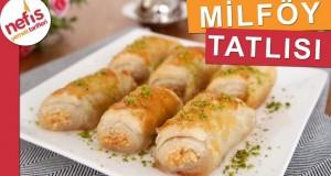 Şerbetli Milföy Tatlısı – Pratik Tatlı Tarifleri – Nefis Yemek Tarifleri