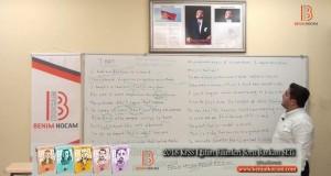 102) THAT Örnek Cümle Çevirileri – YÖKDİL YDS LYS-5 – Hakkı Şahin (2018)