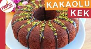Tam Ölçü KAKAOLU KEK – Kabardıkça Kabaran Kek – Nefis Yemek Tarifleri