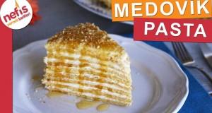 Meşhur MEDOVİK PASTASI – Ballı Rus Pastası