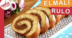 Sünger gibi keki ile ELMALI RULO – Kolayca Sarılır 👍