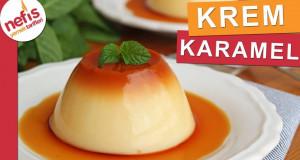 SADECE 1 YUMURTA ile Kolay Krem Karamel Tarifi