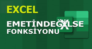 EMETİNDEĞİLSE (ISNONTEXT) Fonksiyonu | Excel Dersleri