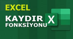 KAYDIR (OFFSET) Fonksiyonu | Excel Dersleri