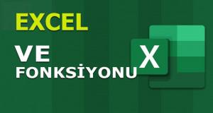 VE (AND) Fonksiyonu | Excel Dersleri