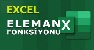 ELEMAN (CHOOSE) Fonksiyonu | Excel Dersleri