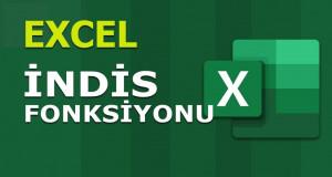 İNDİS (INDEX) Fonksiyonu | Excel Dersleri