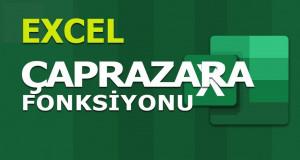 ÇAPRAZARA (XLOOKUP) Fonksiyonu | Excel Dersleri