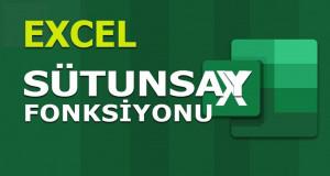 SÜTUNSAY (COLUMNS) Fonksiyonu | Excel Dersleri