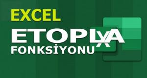 ETOPLA (SUMIF) Fonksiyonu | Excel Dersleri