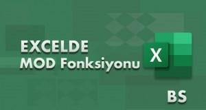 MOD Fonksiyonu Kullanımı | Excel Dersleri