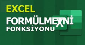 FORMÜLMETNİ (FORMULATEXT) Fonksiyonu | Excel Dersleri