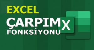ÇARPIM (PRODUCT) Fonksiyonu | Excel Dersleri