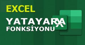 YATAYARA (HLOOKUP) Fonksiyonu | Excel Dersleri