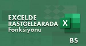RASTGELEARADA (RANDBETWEEN) Fonksiyonu | Excel Dersleri