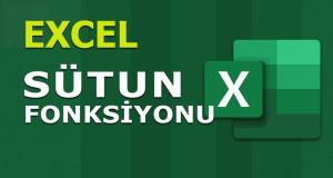 SÜTUN (COLUMN) Fonksiyonu | Excel Dersleri