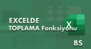 TOPLAMA (AGGREGATE) Fonksiyonu | Excel Dersleri