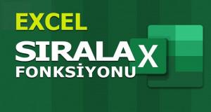 SIRALA (SORT) Fonksiyonu | Excel Dersleri