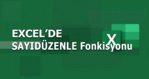 SAYIDÜZENLE (FIXED) Fonksiyonu | Excel Dersleri