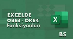OBEB (GCD) ve OKEK (LCM) Fonksiyonları | Excel Dersleri
