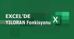 YILORAN (YEARFRAC) Fonksiyonu | Excel Dersleri