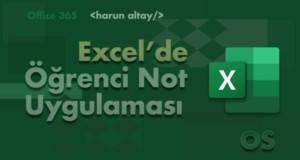 ÖĞRENCİ NOT UYGULAMASI | Excel'de İç içe formül kullanmak
