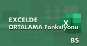 ORTALAMA (AVERAGE) Fonksiyonu | Excel Dersleri