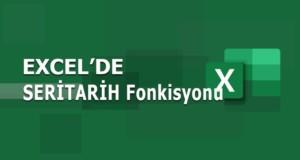 SERİTARİH (EDATE) Fonksiyonu | Excel Dersleri