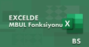 MBUL (SEARCH) Fonksiyonu | Excel Dersleri