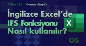 IFS (ÇOKEĞER) Fonksiyonu | İngilizce Excel Fonksiyonları