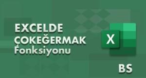 ÇOKEĞERMAK (MAXIFS) Fonksiyonu | Excel Dersleri
