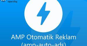AMP sayfanızda Otomatik Reklam (amp-auto-ads) Kullanımı