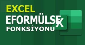 EFORMÜLSE (ISFORMULA) Fonksiyonu | Excel Dersleri