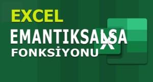 EMANTIKSALSA (ISLOGICAL) Fonksiyonu | Excel Dersleri